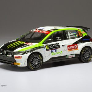 VW Polo GTi R5 #41, O. Solberg/ A. Johnston, Rally Monte-Carlo 2020