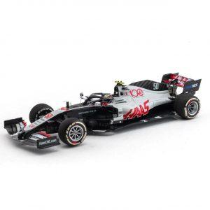 Mick Schumacher Haas VF-20 #50 Abu Dhabi Test Fórmula 1 2020 1:43