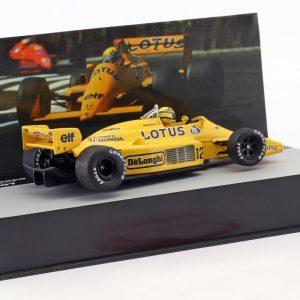 Lotus Honda 99T, Ayrton Senna, Winner Monaco GP 1987