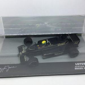 Lotus Renault 98T, Ayrton Senna, Brazil GP 1986