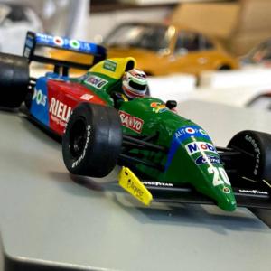Benetton Ford B190 #20 Japan GP F1 1990 Piquet 1:43