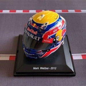 Mini Helmet Mark Webber –  2012 – Escala 1/8