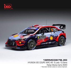 Hyundai I20 Coupe WRC #9 – S. Loeb/ D. Elena – Rally Monte-Carlo 2020