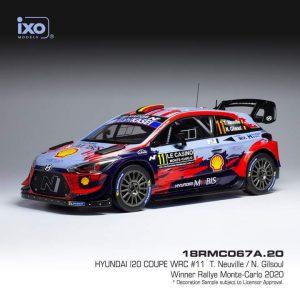Hyundai I20 Coupe WRC #11 – T. Neuville/N. Gilsoul – Winner Rally Monte-Carlo 2020