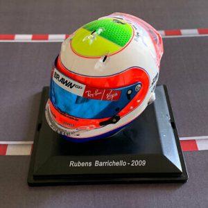 Mini Helmet Rubens Barrichello – 2009 – Escala 1/8