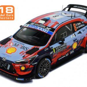 Hyundai I20 Coupe WRC #8 – O. Tanak/ M. Järveoja – Rally Monte-Carlo 2020