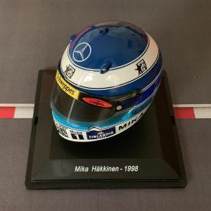 Mini Helmet Mika Häkkinen – 1998 – Escala 1/8