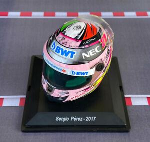Mini Helmet Sergio Perez – 2017 – Escala 1/8