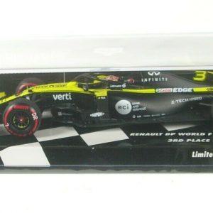 Renault RS20 #3 – Daniel Ricciardo – 3º GP Eiffel 2020