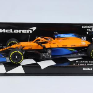 McLaren Renault MCL35 #55 – Carlos Sainz – 2º lugar GP Itália 2020