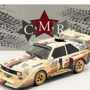 Audi Sport Quattro S1 E2 Dirty Version – Pikes Peak Hill Climb 1987 / Winner 10: 47.850 min