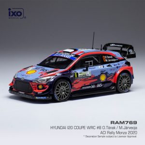 Hyundai i20 Coupe WRC #8 O.Tänak /M.Järveoja ACI Rally Monza 2020