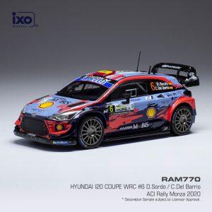 Hyundai i20 Coupe WRC #6 D.Sordo /C. Del Barrio ACI Rally Monza 2020