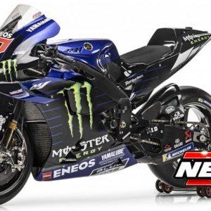 Yamaha YZR-M1, #20, Yamaha Factory Racing, Monster Energy, MotoGP, F. Quartararo, 2021