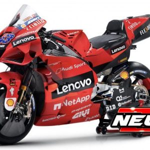 Ducati Desmosedici GP21, #43, Ducati Lenovo team, MotoGP, J. Miller, 2021
