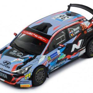 Hyundai I20 R5 #36 G. Munster/L. Louka Rally Estonia 2020