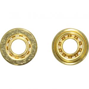Rolamentos de bolas 4.75 x 2.38mm (3/32″) Dourados