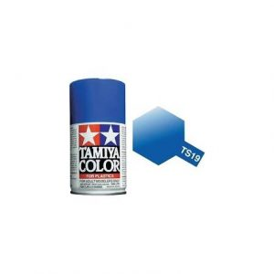 Tinta spray 100ml. azul metálico Tamiya TS-19