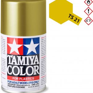 Tinta spray 100ml. ouro Tamiya TS-21
