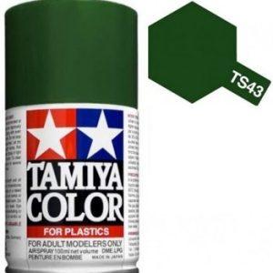 Tinta spray 100ml. verde racing Tamiya TS-43