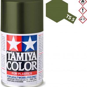 Tinta spray 100ml. verde oliva Tamiya TS-5