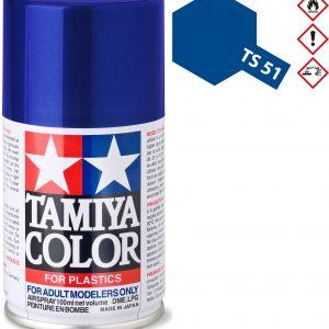 Tinta spray 100ml. azul racing Tamiya TS-51