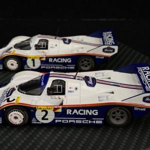 Duo Porsche 956K n° 1 & n° 2 1000km Nürburgring 1983
