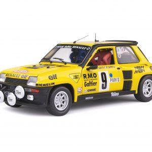 Renault 5 Turbo #9 – Bruno Saby/F. Sappey – Rallye Monte-Carlo 1982