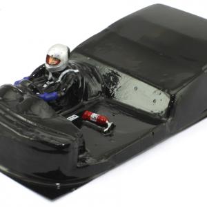 Interior aligeirado 1/24 GT Moderno piloto lado direito (lexan + resina)