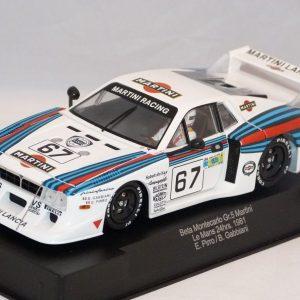 Lancia Beta Montecarlo #67 Grupo 5 Martini – 24H Le Mans 1981 – E. Pirro/B. Gabbiani