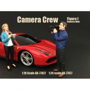 1:18 Race Day series 2 – Camera Crew I – Camera man – Figure I