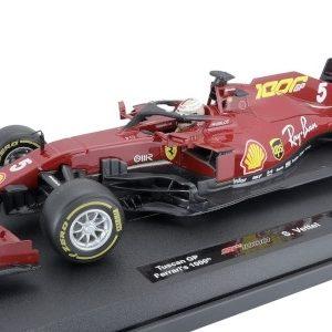 Ferrari SF1000 # 5, Scuderia Ferrari, Formula 1, GP Toscana, 1000th GP for Ferrari, S. Vettel, 2020