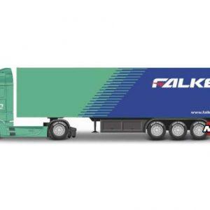 Mercedes Actros Gigaspace, Falken Tires, box wagon truck trailer