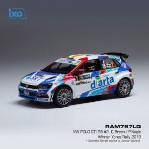 VW POLO GTI R5 #2 – C. Breen/ P. Nagle – Winner Ypres Rally 2019 – Escala 1:43