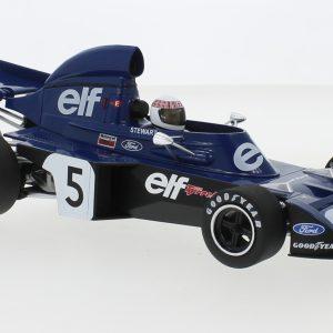 Tyrrell Ford 006, # 5, Eleven Team Tyrrell, Formula 1, GP Monaco, J.Stewart, 1973 – Escala 1/18