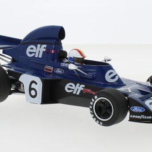 Tyrrell Ford 006, # 6, Eleven Team Tyrrell, Formula 1, GP Belgium, F. Cevert, 1973 – Escala 1/18