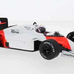 McLaren MP4/2B, # 2, Marlboro McLaren International, Marlboro, Formula 1, GP Monaco, with Decals, A. Prost, 1985