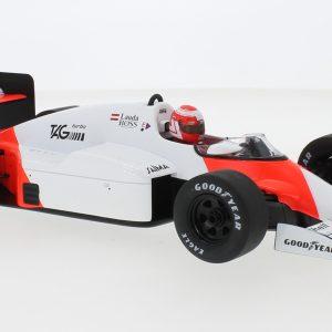 McLaren MP4/2B, # 1, Marlboro McLaren International, Marlboro, Formula 1, GP Netherlands, with Decals, N. Lauda, 1985