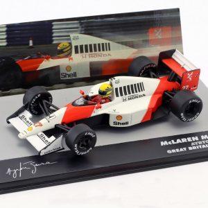 McLaren Honda MP4/5B #27 – Ayrton Senna – World Champion Great Britain GP Formula 1 1990
