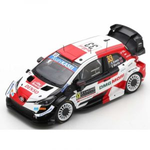Toyota Yaris WRC #33 – E. Evans/ S. Martin – 2nd Rally Monte-Carlo 2021