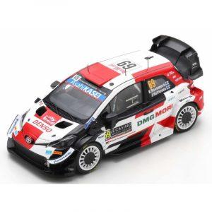 Toyota Yaris WRC #69 – K. Rovanpera/ J. Haltunnen – 4th Rally Monte-Carlo 2021