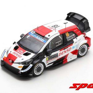 Toyota Yaris WRC #18 – T. Katsuta/D. Barritt – 6th Rally Monte-Carlo 2021