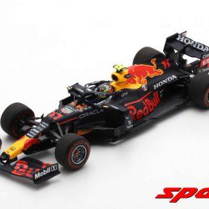 Red Bull Racing Honda RB16B #11 – Winner Azerbaijan GP 2021 – Sergio Perez with Pit Board