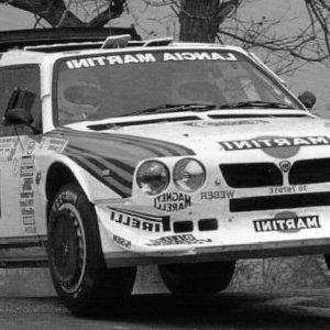 Lancia Delta S4, #6, Tour de Corse, M. Biasion/ T. Siviero, 1986