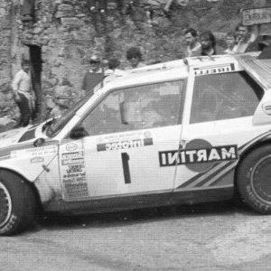 Lancia Delta S4, #1, Tour de Corse, M.Alen/ I.Kivimäki, 1986